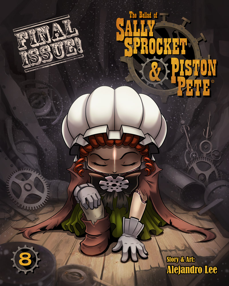 SSnPP Issue 8 cover by 47ness