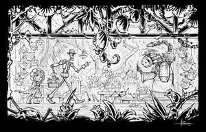 Steampunk Inktober - Day 11 by 47ness