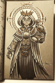 Steampunk Inktober - Day 12