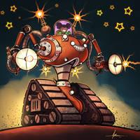 Astropunk Mechadoohicky by 47ness