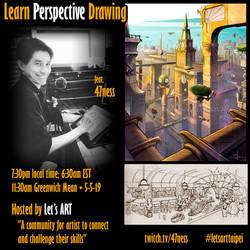 Art Demo + Critique Stream 2-19-19 by 47ness