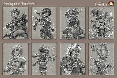 47ness Draws Your Characters! batch 1