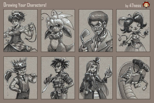 47ness Draws Your Characters! batch 3
