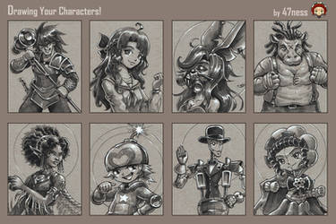 47ness Draws Your Characters! batch 4