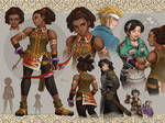 Suikoden III - Aila and the 12th Unit