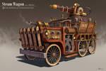 Steampunk Firetruck