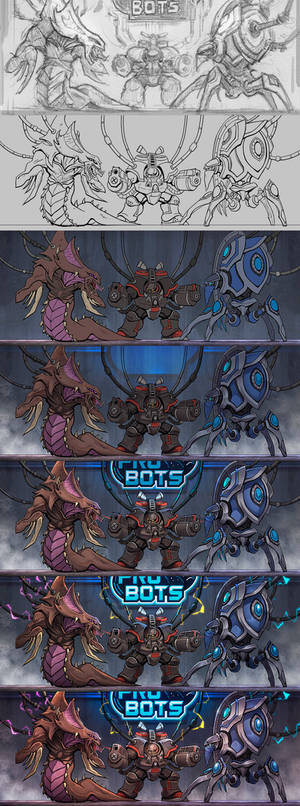 Pro Bots banner [process]