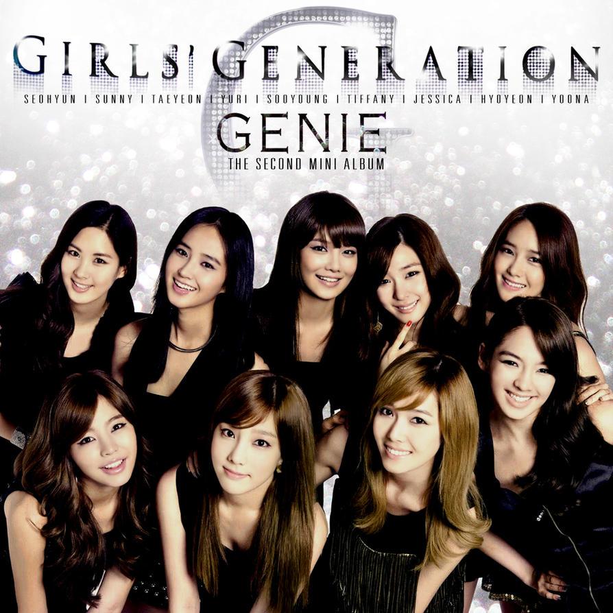 Girls Generation Genie Album Girls Generation Genie Cover
