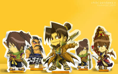 Chibi Pandawa V Wallpaper by HNDRNT26