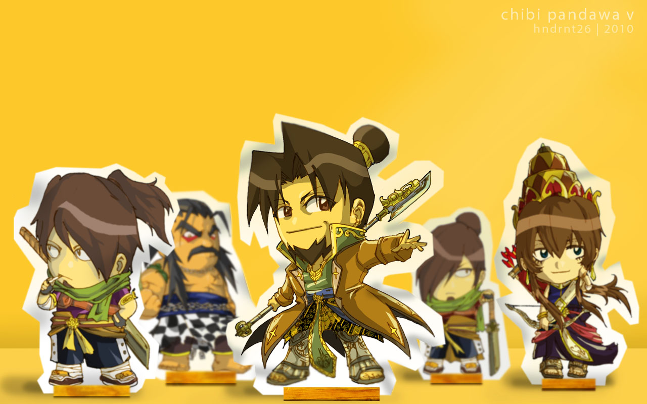 Chibi Pandawa V Wallpaper by ~HNDRNT26 on deviantART