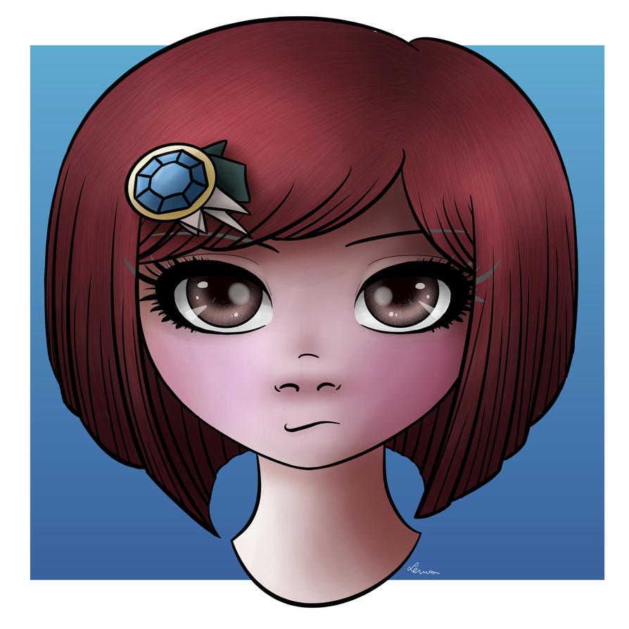 Himiko Yumeno fanart by CytrynkaLemon