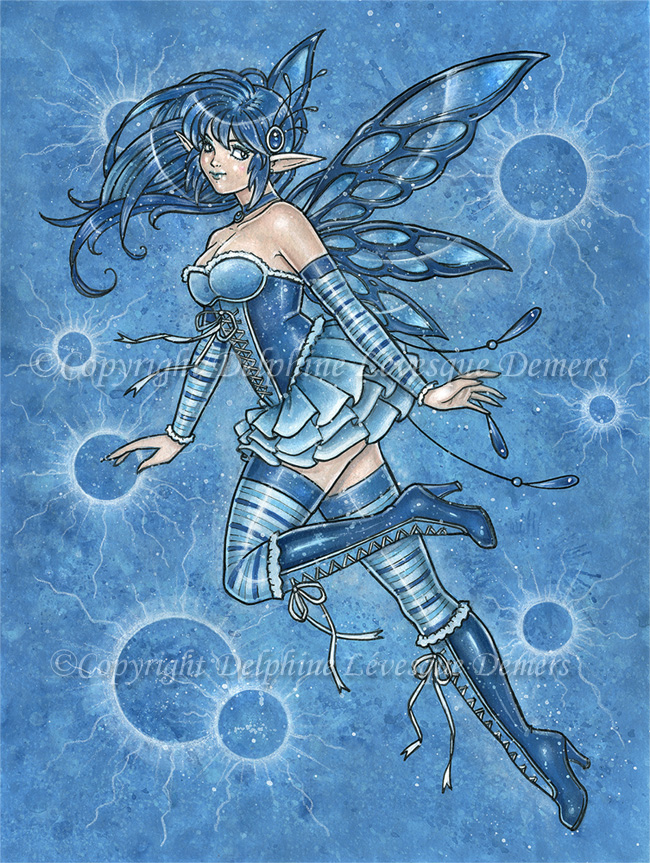 Water Fairy Pictures Water fairy by delphineart