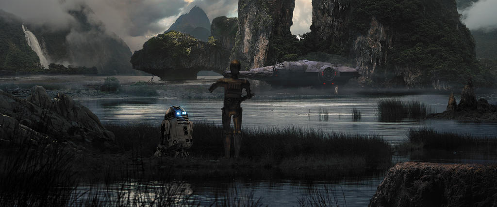 Cgland Star Wars 1 by Lnldreal
