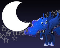 MLP: Princess Luna Wallpaper by Togekisspika35