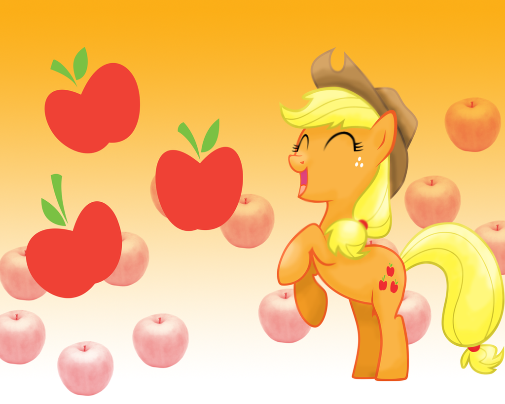 MLP: Applejack Wallpaper by Togekisspika35
