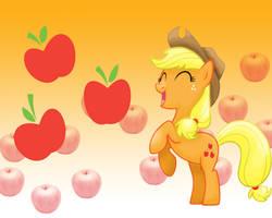 MLP: Applejack Wallpaper by Togekisspika35