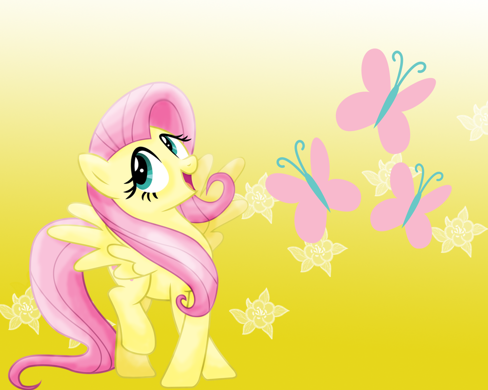 MLP: Fluttershy Wallpaper by Togekisspika35 on DeviantArt