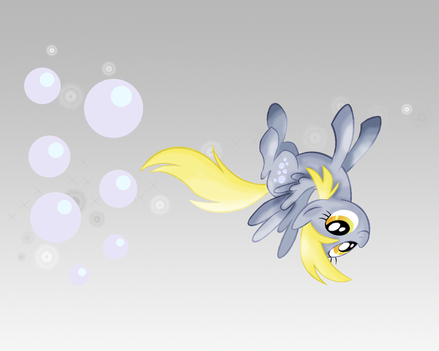 MLP: Derpy Hooves Wallpaper by Togekisspika35