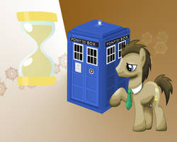 MLP: Dr. Whooves Wallpaper by Togekisspika35