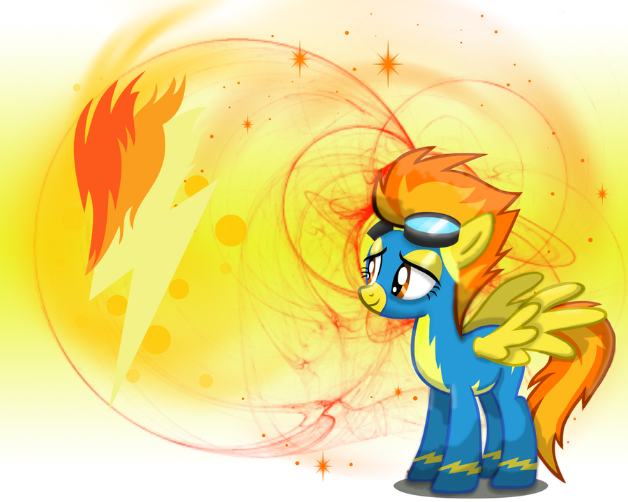 MLP: Spitfire Wallpaper by Togekisspika35