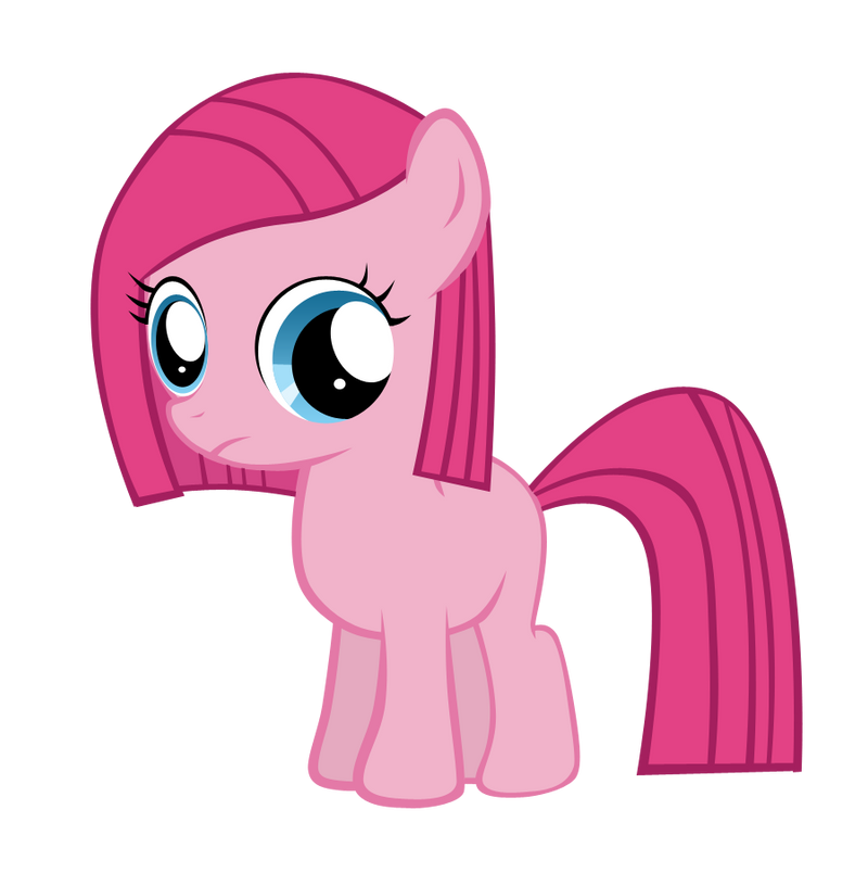MLP: Pinkamena Filly Vector by Togekisspika35 on DeviantArt