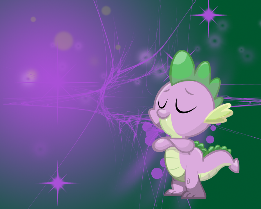 MLP: Spike Wallpaper by Togekisspika35