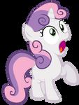 Shocked Sweetie Belle Vector