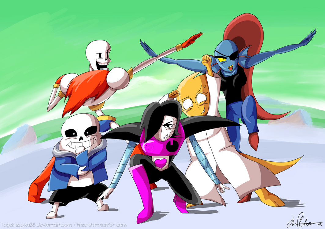 The Mettaton Force by Togekisspika35