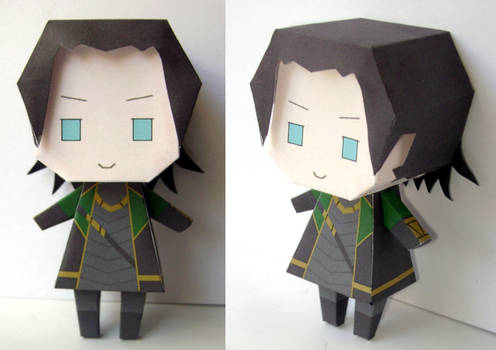 Loki Papercraft