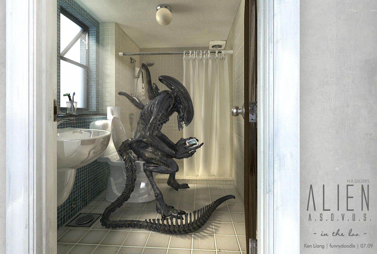 H.R.GIGER's Alien ASOVUS A