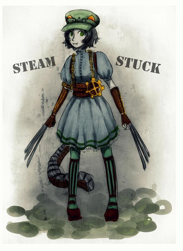 SteamStuck: Nepeta Leijon by KirscheAnder
