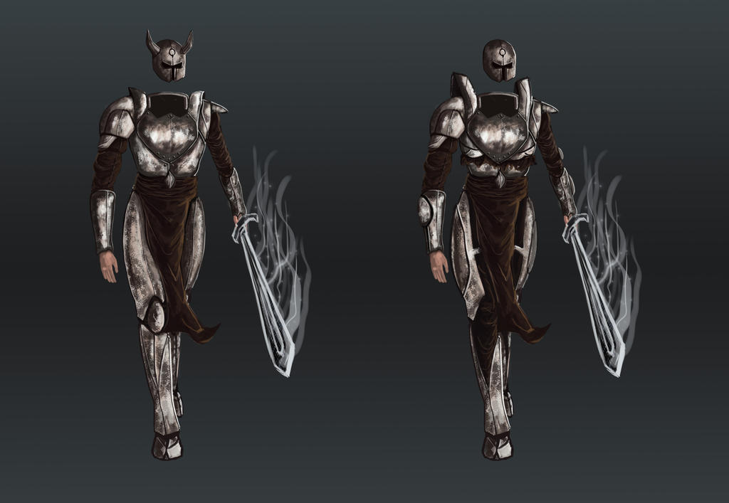 warrior armor test by NihoAme