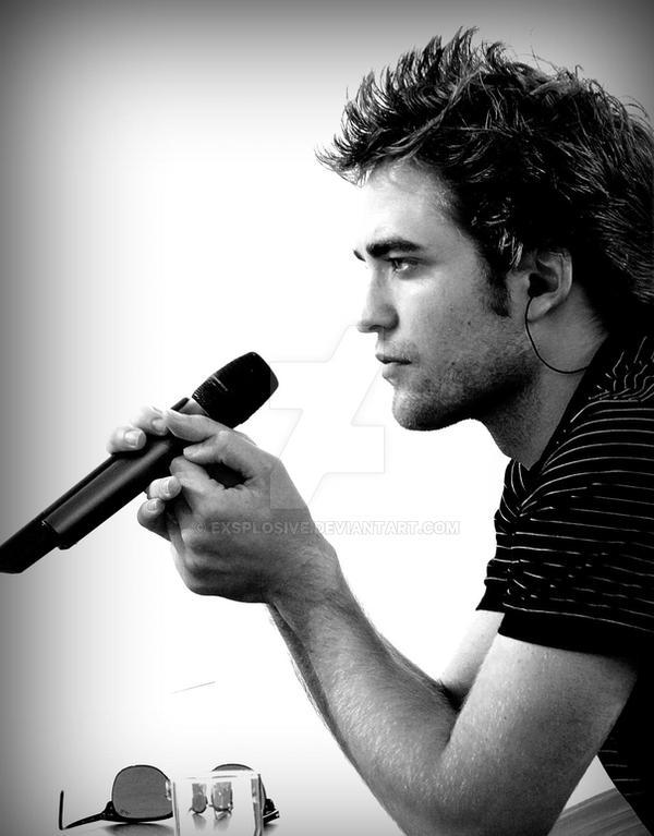 Robert Pattinson by exsplosive