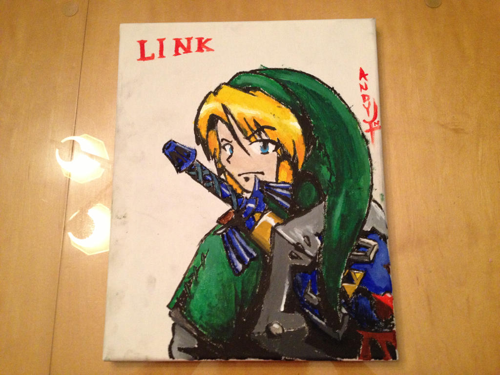 Link Painting by Leapoffaith4