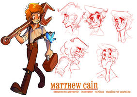 Matthew Cain by stellarknight3