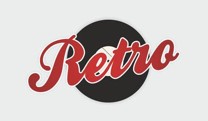RETRO logotype by AntonFrank