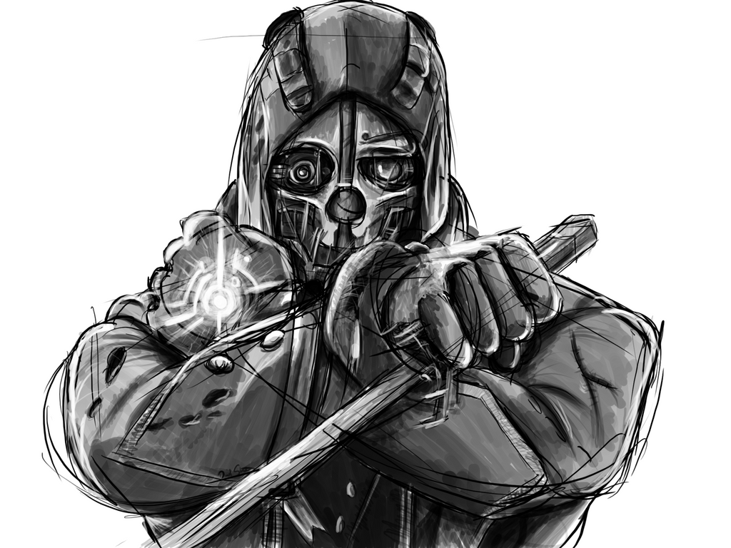 Dishonored Fan Art Corvo Video Games Wallpapers Hd: Dishonored By Danstrachan On DeviantArt