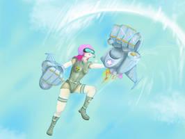 Airborne Vi by ILIKEHUGSS
