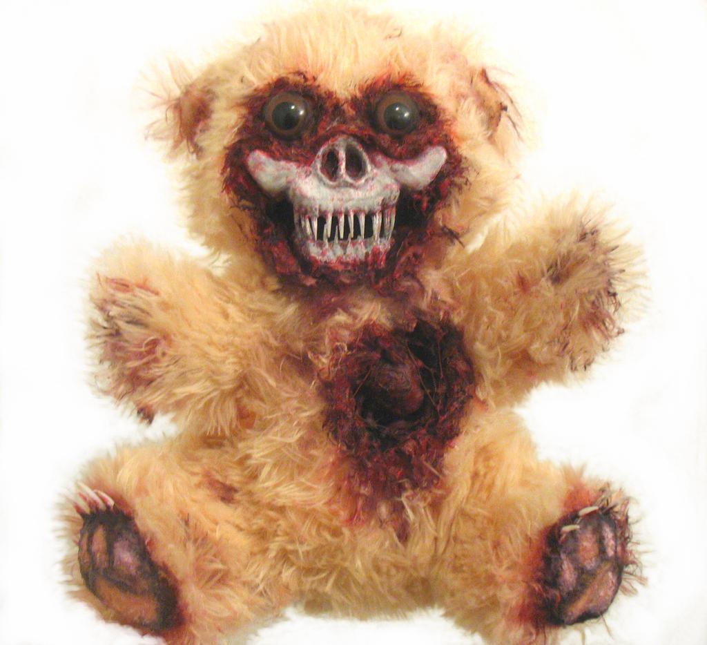 Scare Bear by OddandOddesss
