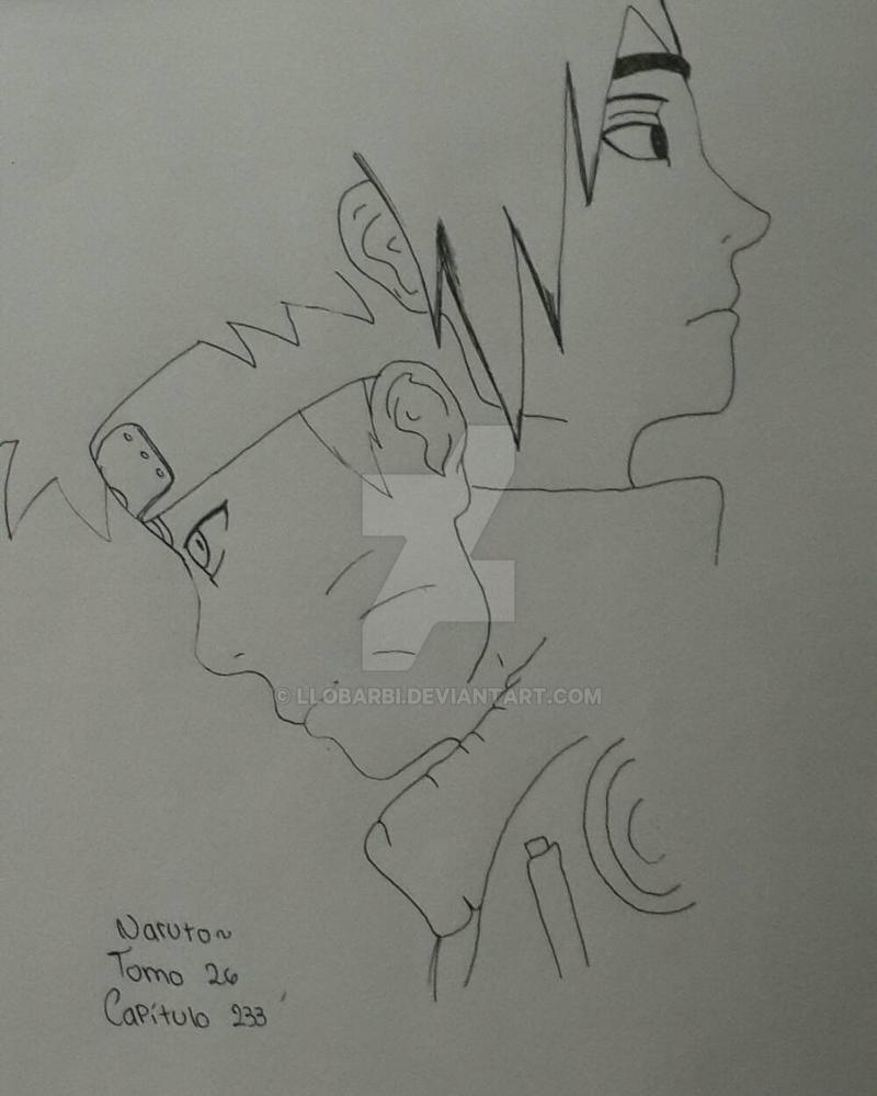 Naruto Sketch by llobarbi