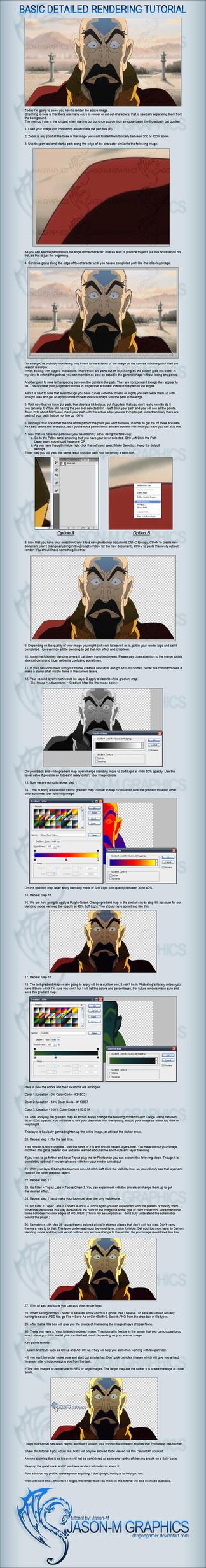 Basic Detailed Rendering Tutorial by DragonGamer