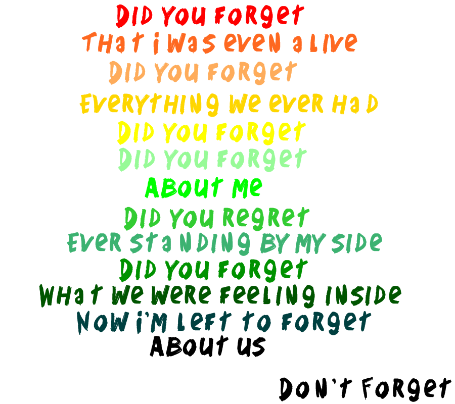 Lyric demi lovato lyrics : Letra en PNG 'Don't Forget' De Demi Lovato by FlyWhitMeEditions on ...