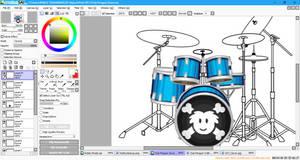 Flipline Studios Club Penguin Drum Edit