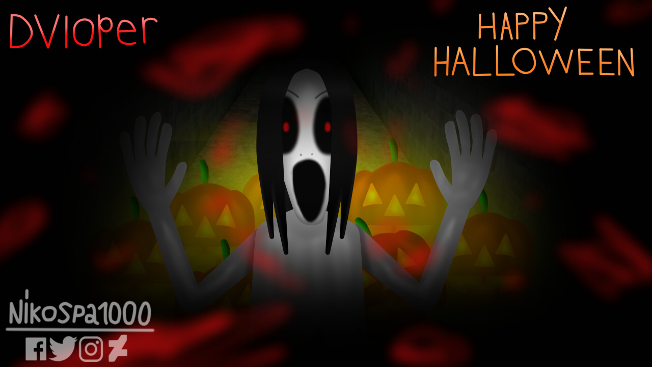 Slendrina to Happy Halloween