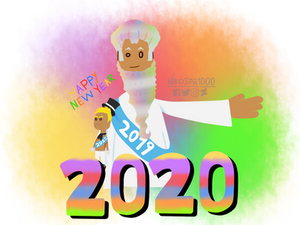 Happy New Year 2020 to Boopsy and Bill