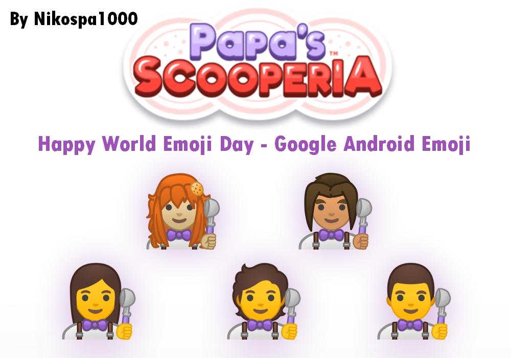 Papa's Scooperia Emoji