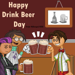Happy Drink Beer Day