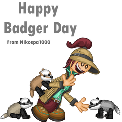 Happy Badger Day