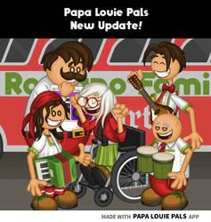 Papa Louie Pals New Update!