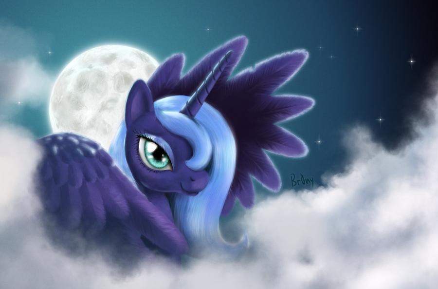 Luna by Br0ny